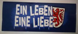 150 Braunschweig Ein Leben Eine Liebe Aufkleber