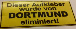 150 Dortmund eliminiert Aufkleber