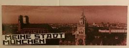 150 München Meine Stadt Aufkleber