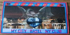 Basel My City My Club Aufkleber