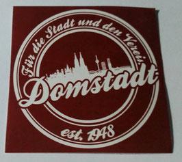 150 Köln Für die Stadt und den Verein Rund Aufkleber