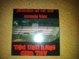 Anti München Blau München ist rot