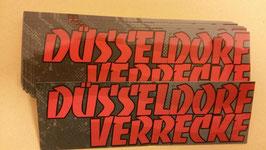 150 Düsseldorf verrecke Aufkleber