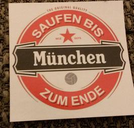 150 München saufen Aufkleber