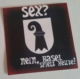 150 Basel Sex Aufkleber