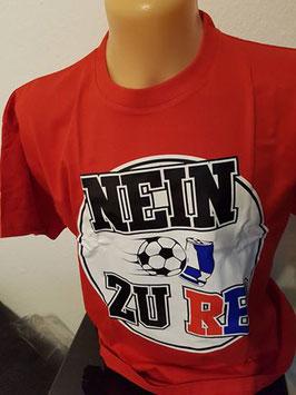 Nein zu RB Shirt Rot
