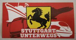 Stuttgart unterwegs Aufkleber