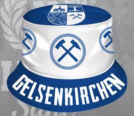 Gelsenkirchen Fischerhut Hammer +Stadtwappen