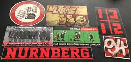 Nürnberg Szeneklebermix 6823