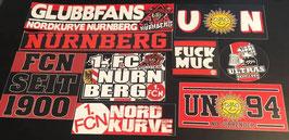 Nürnberg Szeneklebermix 6579