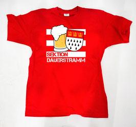Köln Sektion Dauerstramm Shirt Rot