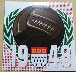 150 Köln AGM Ball 1948 Aufkleber