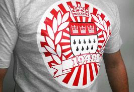 Köln 1948 Stadtwappen Kreis Shirt