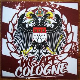 150 Köln We are Cologne Aufkleber