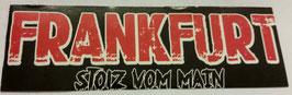 150 Frankfurt Stolz Aufkleber