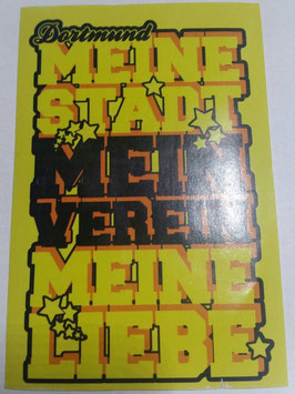 150 Dortmund Meine Stadt Stern Aufkleber