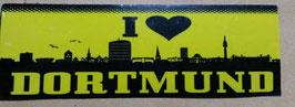 150 I Love Dortmund Aufkleber