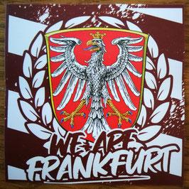 150 We are Frankfurt Aufkleber