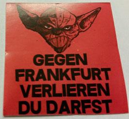 150 Frankfurt Yoda verlieren du darfst Aufkleber