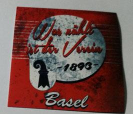 150 Basel was zählt ist der Verein Aufkleber