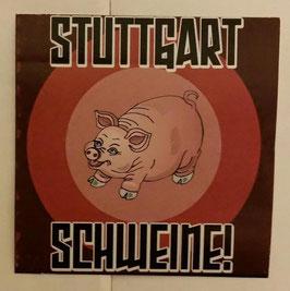 150 Stuttgart Schweine Aufkleber
