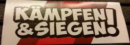 150 Kaiserslautern kämpfen und siegen Aufkleber