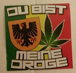 150 Dortmund meine Droge 6x6 Aufkleber
