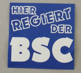 Berlin hier regiert der BSC Aufkleber