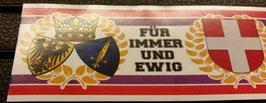 150 Essen Wien für immer und ewig Aufkleber