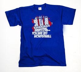 Hamburg Wonderwall Shirt Blau