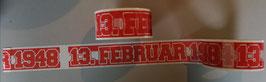 Köln Datum Kleberolle
