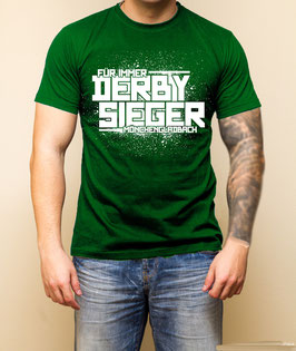 Gladbach für immer Derbysieger Shirt Grün