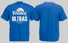 Freiheit für Ultras Shirt Blau