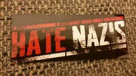150 Hate Nazis Aufkleber