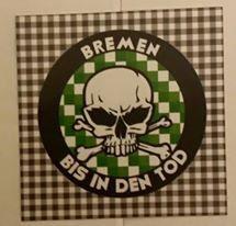 150 Bremen Kreis bis in den Tod Aufkleber