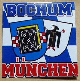 150 München-Bochum 6x6 Aufkleber