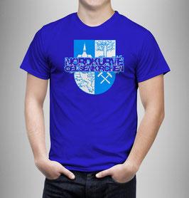Gelsenkirchen Nordkurve Stadtwappen Shirt Blau