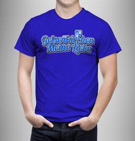 Gelsenkirchen Meine Liebe länglich Shirt Blau