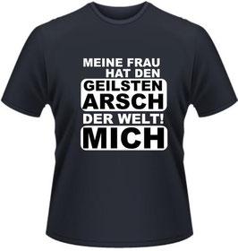 Geilsten Arsch Shirt Schwarz