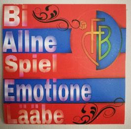 Basel Emotione Rot Aufkleber