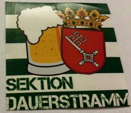 150 Bremen Sektion Dauerstramm Aufkleber