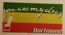 150 Dortmund you are me drug länglich Aufkleber