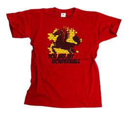 Stuttgart Wonderwall Shirt Rot