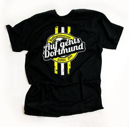 Dortmund auf gehts Shirt Schwarz