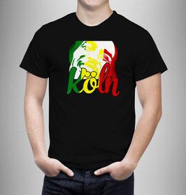 Köln Jamaika Shirt Schwarz
