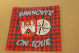 Hannover on Tour Aufkleber