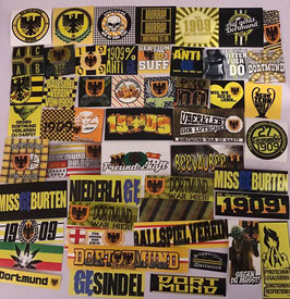 Dortmund 51er Aufklebermix