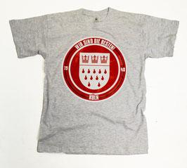 Köln Wir sind die Besten Shirt Grau