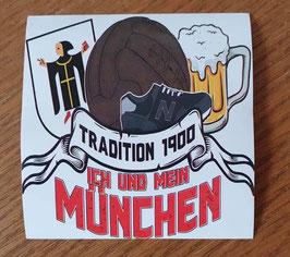 München Ich und mein München Aufkleber