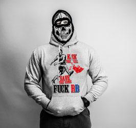 Kick the Bull Anti RB Hoodie Grau